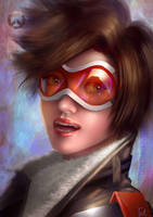 Overwatch:Tracer by Raphire