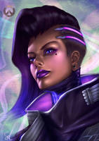Overwatch:Sombra by Raphire