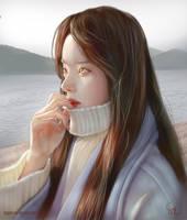 Portrait study 020218 by Raphire