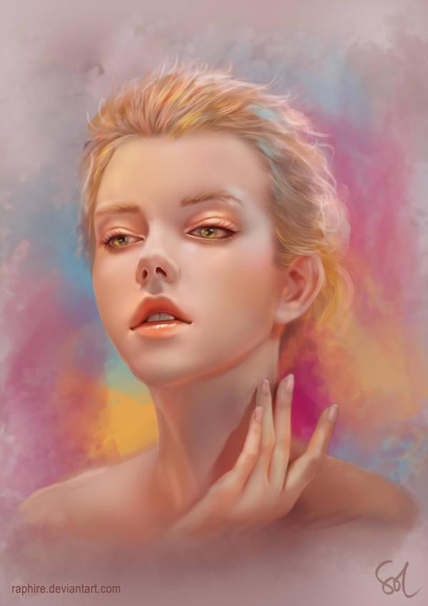 Portrait Study 120218 by Raphire