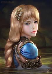 Sophitia Portrait by Raphire
