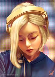 Portrait study 110418 DJ Soda by Raphire