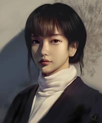 Portrait Study 200618 by Raphire