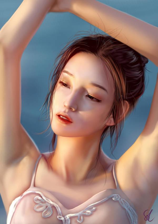 Portrait Study 141118 by Raphire
