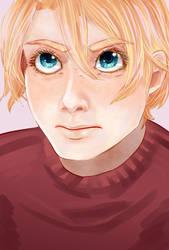 Eyes of determination by Maari-Erein
