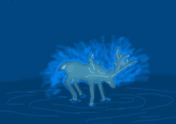 Weird Deer by siberian502