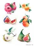 Fruits by mda-a-a-a