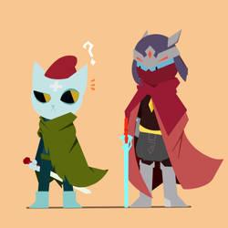 Two wanderer by MelakDX