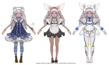 Elin Costume designs by stella9708