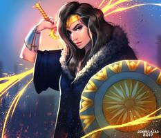 Wonder Woman by JohnnyAzad