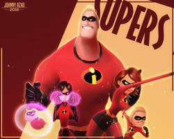 The Incredibles by JohnnyAzad