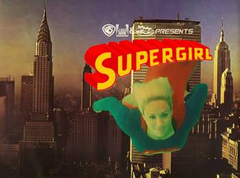 Supergirl Skyline Poster #3 by WONTV5