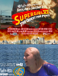 Supergirl VI City In Chaos Movie Poster by WONTV5