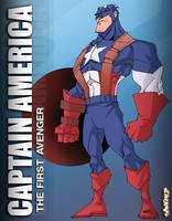 Captain America 1st Avenger by StevenSanchez
