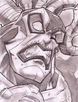 Bane AA Sketch Shot by StevenSanchez