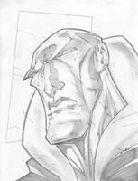 Destro Sketch Shot by StevenSanchez
