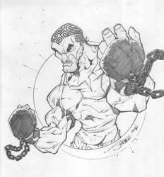 LION The Iron Boxer by StevenSanchez