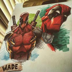 Deadpool Pen Stuff by StevenSanchez
