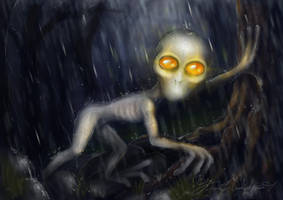 April: The Dover Demon by pyro-helfier