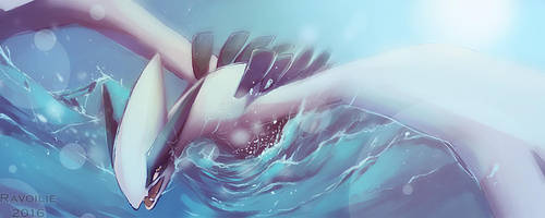 Ocean traveller by Ravoilie