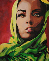Afghan Woman. by ArtSoteria