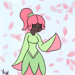 Flower Girl by FoxyMaze
