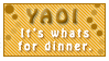 Yaoi: Dinner by Foxxie-Chan