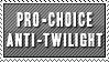 Pro-Choice, Anti-Twilight by Foxxie-Chan
