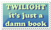 Twilight: Just A Book by Foxxie-Chan