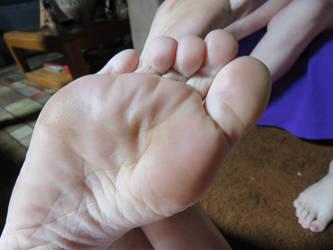 Tabby sole closeup by aggboy55