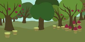 MLP FIM Sweet Apple Acres BG by BleuKettu