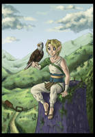 Linkwitheagle by Wictorian-Art