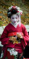 Kyoto Geisha by Wictorian-Art