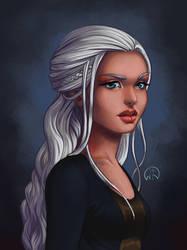 Daenerys by Wictorian-Art