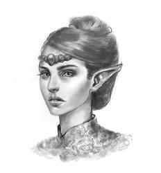 Collab: Elf by Wictorian-Art