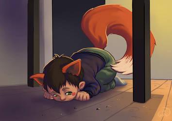 Mikkel the Fox by Wictorian-Art