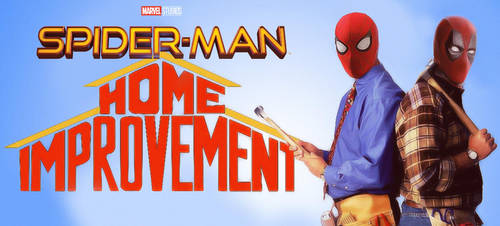 Spiderman Home Improvement by MrSmile078