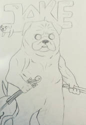 Adventure time - Jake the Dog by MrSmile078