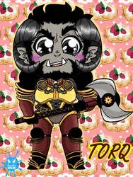 Chibi Torq by BlooeyedSpazz