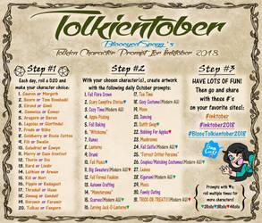 Tolkientober by BlooeyedSpazz