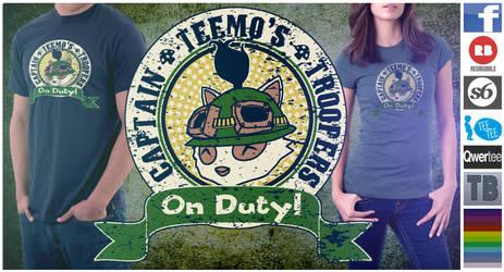 On Duty - T-Shirt Design by Eeren