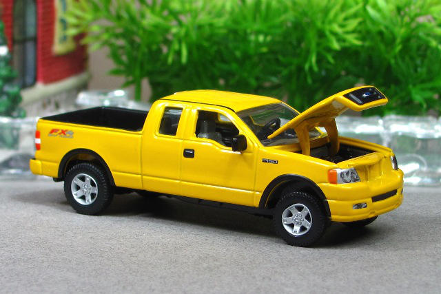 2005 Ford F 150 Fx4 Supercab Yellow Z Ertl By Deanomite17703 On