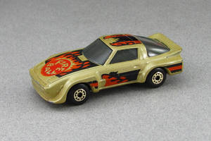 1983 Mazda RX-7 IMSA Racer - gold - Matchbox by Deanomite17703