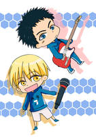 Kise and Kasamatsu 's Music World by yijou