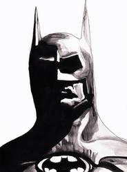 [Inktober]-Day4 // Batman by MarcMcKay