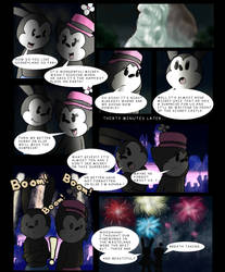 A kiss under the fireworks pg1 by Galikitty