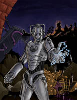 Cyberman Triumphant by JonWes