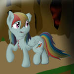 Zombie Rainbow dash request finished by Sky-Sketch