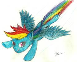 Rainbowdash by Sky-Sketch
