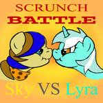 Scrunch Battle by Sky-Sketch